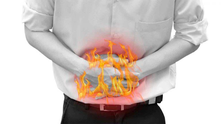 Lo stomaco brucia?